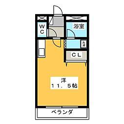 コンフォール日吉[2階]の間取り