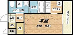 WOB京橋[2階]の間取り