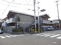 京都府京都市左京区下鴨宮崎町の賃貸マンションの外観