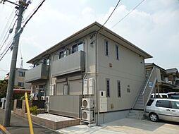 東京都青梅市新町7丁目の賃貸アパートの外観