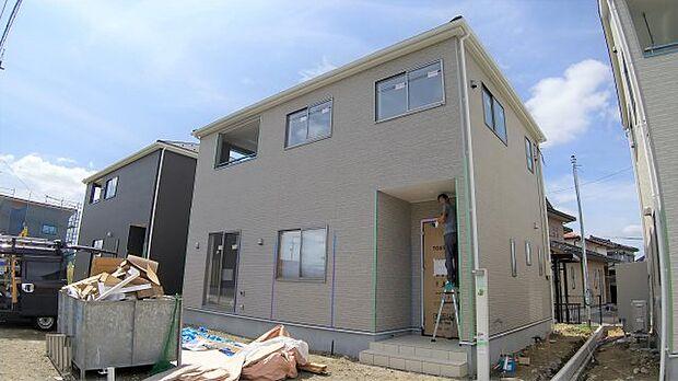 建築中(9月13日現在)10月完成予定の新築住宅!閑静な住宅街で子育て環境良好です!