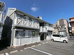 静岡県富士市柚木の賃貸アパートの外観