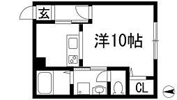 ふか喜マンション[2階]の間取り