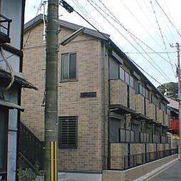 京都府京都市北区紫野北舟岡町の賃貸アパートの外観