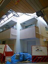 アールエー北田辺[4階]の外観