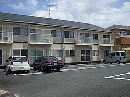 岡山県総社市溝口の賃貸アパートの外観
