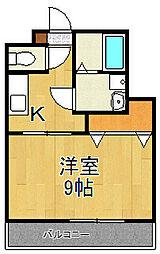 元町ガーデン18[3階]の間取り