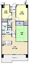 薬円台公園ガーデンハウス[4階]の間取り