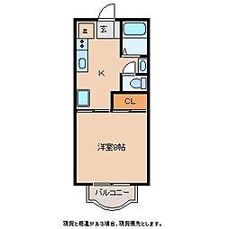 アメニティー・ユー[2階]の間取り