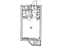 パレ・ドール西国分寺[2階]の間取り