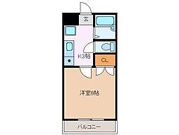 ワイズ ハイツ[2階]の間取り