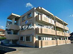 岡山県岡山市中区東川原丁目なしの賃貸マンションの外観