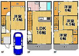 野田駅 4,280万円