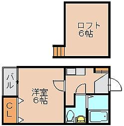 バルゴ[2階]の間取り