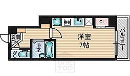 プライムアーバン江坂1[3階]の間取り