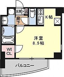 サムティ京都二条[302号室号室]の間取り