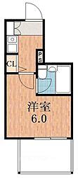 アップル天王寺[7階]の間取り