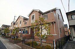埼玉県草加市新栄3丁目の賃貸アパートの外観