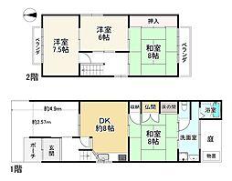 清水五条駅 6,500万円