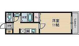 ユニコート[2階]の間取り