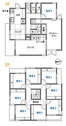 檸檬(れもん) 武蔵野美術大学まですぐ 2階ワンルームの間取り