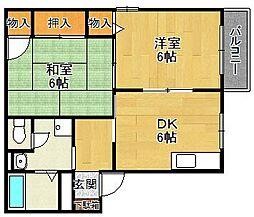マニャーナ夙川[105号室]の間取り