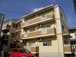 愛媛県松山市立花2丁目の賃貸マンションの外観