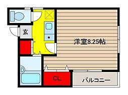 YSハウス[1階]の間取り