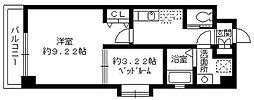 ラピスラズリ桜坂[3階]の間取り