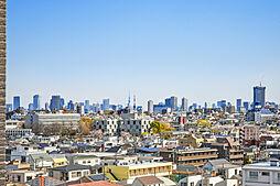 東京タワー・スカイツリーが望めます