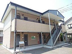 ハピネス〜S・O B棟[1階]の外観