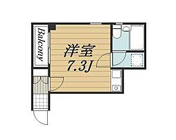 千葉県千葉市中央区春日1丁目の賃貸マンションの間取り