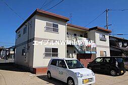 岡山県岡山市中区今在家丁目なしの賃貸アパートの外観