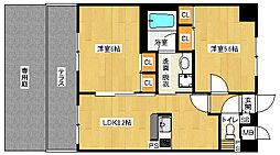 「エステムプラザ京都河原町通」[1階]の間取り