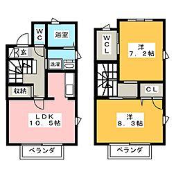ソフィア城之崎[2階]の間取り
