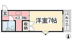 松山市駅駅 1.5万円