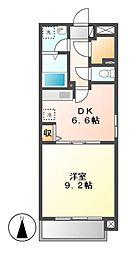 will Do 太閤通[8階]の間取り