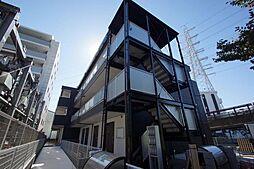 神奈川県横浜市鶴見区駒岡5丁目の賃貸アパートの外観