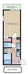 西武池袋線 東長崎駅 徒歩5分の賃貸アパート 1階1Kの間取り