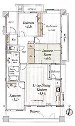 レクセルマンション東村山 3階