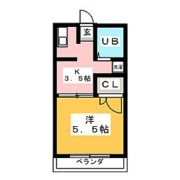 アマイケヤマト[2階]の間取り