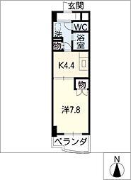 ESTATE YAMADA[3階]の間取り