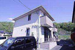 岡山県赤磐市桜が丘東1丁目の賃貸アパートの外観