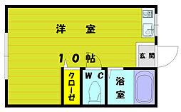 塚本コーポ[2階]の間取り