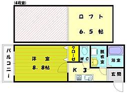 マリンサイド弐番館[1階]の間取り