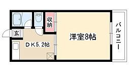 第2高重ビル[205号室]の間取り