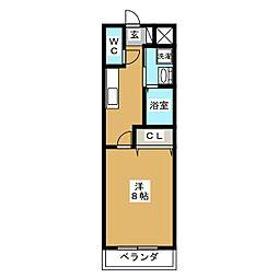 シンフォニー壱番館[3階]の間取り
