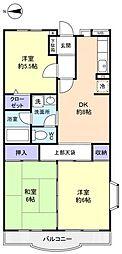 クレール25[3階]の間取り