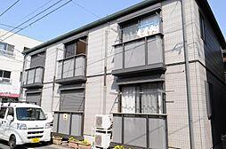 千葉県流山市松ヶ丘2丁目の賃貸アパートの外観