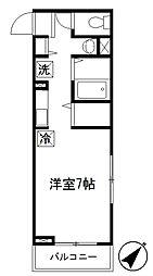 リンクス赤塚新町[2階]の間取り